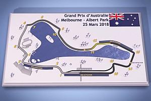 Formule 1 Contenu spécial Vidéo - Le guide du circuit de l'Albert Park à Melbourne
