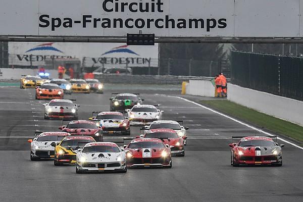 Ferrari Gara Challenge Europe: a Spa festa per Nielsen, Wohlwend, Weiland e Mattsson