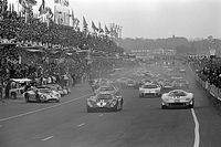 Archive: When Ferrari almost stopped Ford's Le Mans steamroller