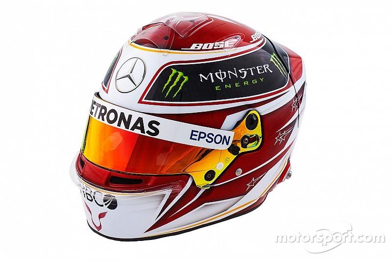 Photos - Les casques de Lewis Hamilton et Valtteri Bottas