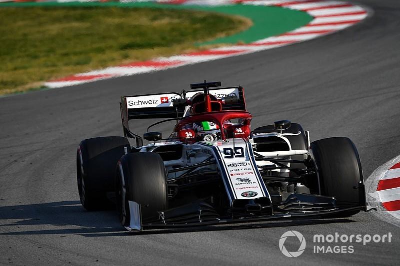 Barcelone, J5 - Giovinazzi, Gasly et Leclerc en un dixième