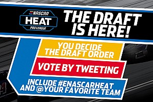 Vote now to determine eNASCAR Heat Pro League draft order