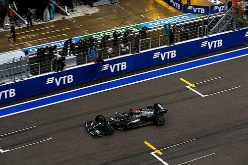 Hamilton: Habría sido difícil vencer a Norris sin la lluvia