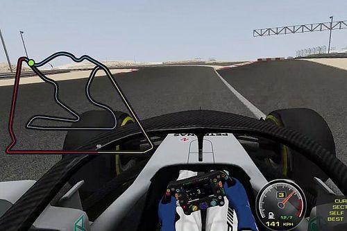 Vídeo: ¡así sería una vuelta al circuito exterior de Bahrein!