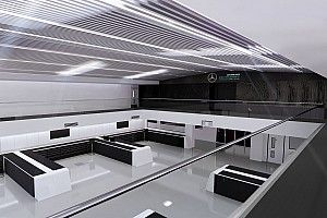 Mercedes F1 renueva por primera vez su fábrica de Brackley