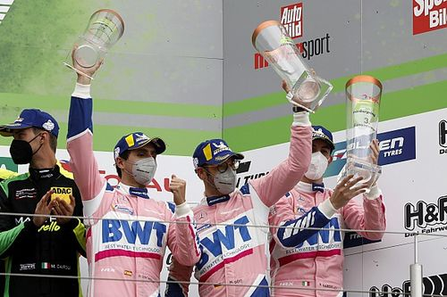 Juncadella, en el podio de las 24h de Nurburgring más cortas de la historia