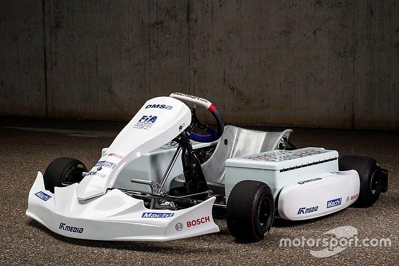 Mogelijke elektrische kart voor FIA eKarting Cup gepresenteerd