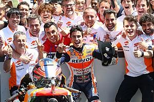 """MotoGP Noticias Márquez: """"Rossi es el más consistente, merece un gran respeto"""""""