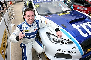 BTCC Qualifying report Rockingham BTCC: Cole claims surprise maiden pole