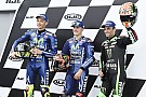 Le Mans MotoGP: Vinales leads all-Yamaha front row