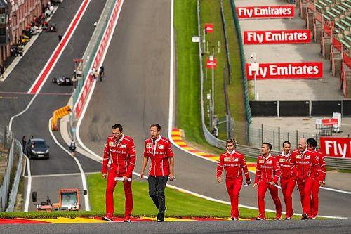 Fotogallery: i piloti si preparano per il GP del Belgio a Spa