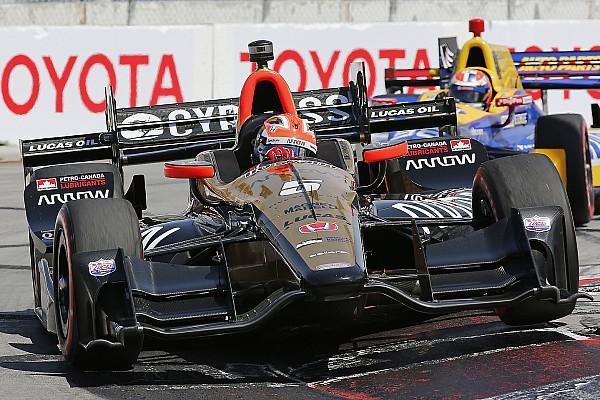 IndyCar James Hinchcliffe trionfa a Long Beach davanti a Bourdais