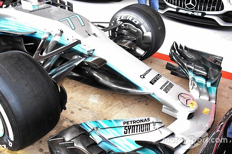 Mercedes'in büyük güncellemeyle gelen radikal kaşık kanatçığı