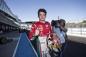 FIA F2 Race report Jerez F2: Leclerc crowned champion after crazy finish