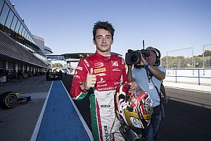 FIA F2 Raceverslag F2 Jerez: Leclerc pakt titel na zenuwslopende slotfase