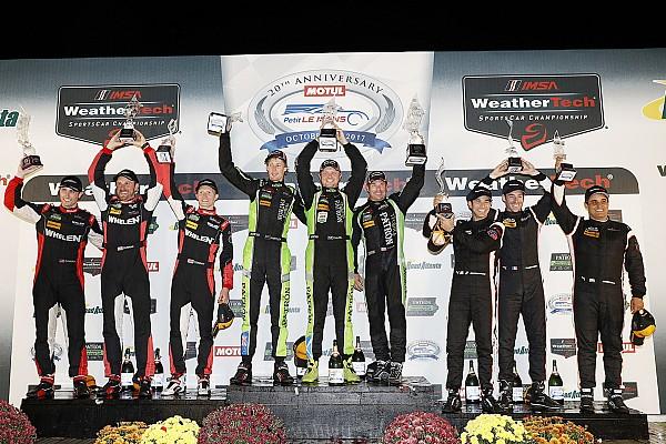 Petit Le Mans: ESM Nissan conquers after bizarre final stint