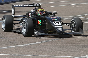 USF2000 Breaking news Ming tops USF2000 test at Iowa Speedway