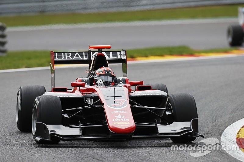Mazepin comanda domínio da ART em Spa; Piquet é 5º