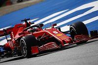 Vettel y Leclerc admiten que el Ferrari no está donde debería