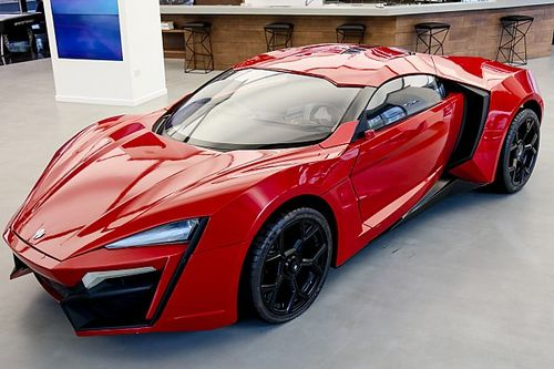L'hypercar di Fast & Furious 7 all'asta