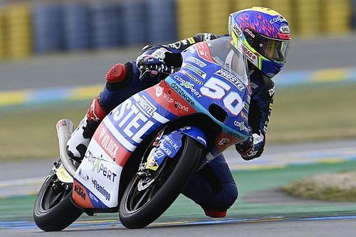 Le numéro de Jason Dupasquier retiré de la catégorie Moto3