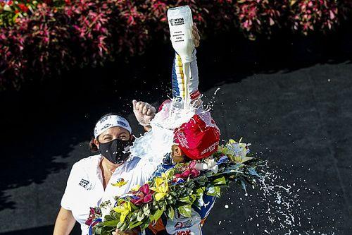 Pourquoi le vainqueur de l'Indy 500 boit-il du lait?