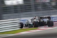 Hamilton se lleva la pole en Rusia con susto; Ferrari, lejos del top 10