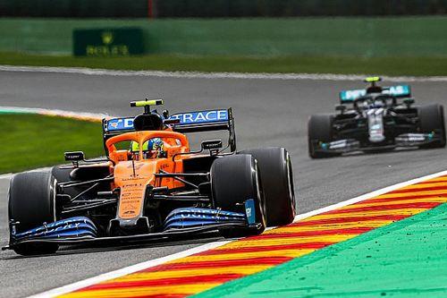 "Norris voit le moteur Mercedes ""bien meilleur"" que le Renault"