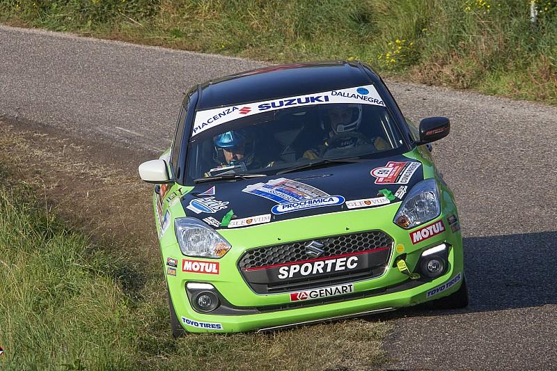 Suzuki Rally Trophy: il Due Valli lo vince a sorpresa Cogni al debutto con la Swift turbo