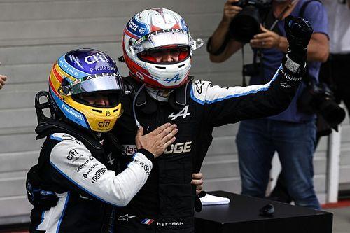 """Ocon dankt Alonso: """"Deze zege heb ik ook aan hem te danken"""""""