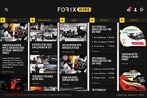 Algemeen Motorsport.com nieuws Motorsport Stats lanceert nieuwsservice ForixWire