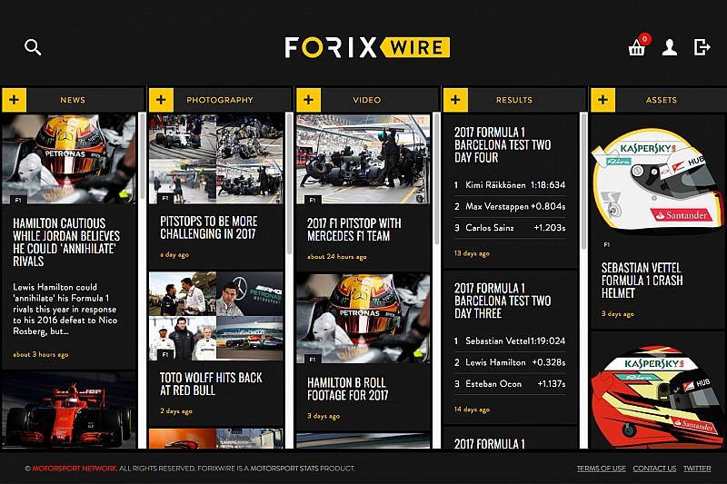 Motorsport Stats запускає сервіс ForixWire