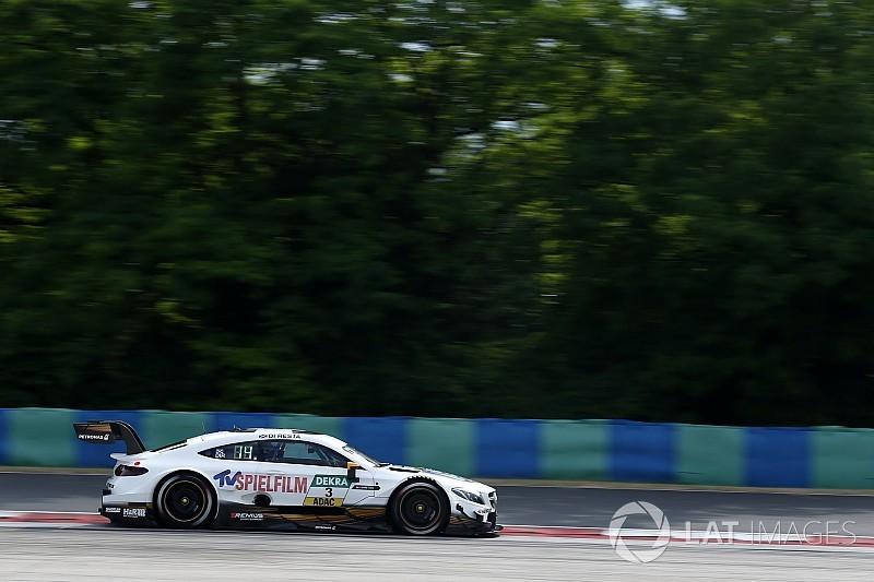 Ди Реста выиграл первую гонку DTM в Будапеште с 13-го места