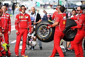 Формула 1 Анонс Гран При Бельгии: шины на гонку