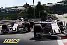 Симрейсинг Геймплей F1 2017: 50 минут на дождевой «Спа»
