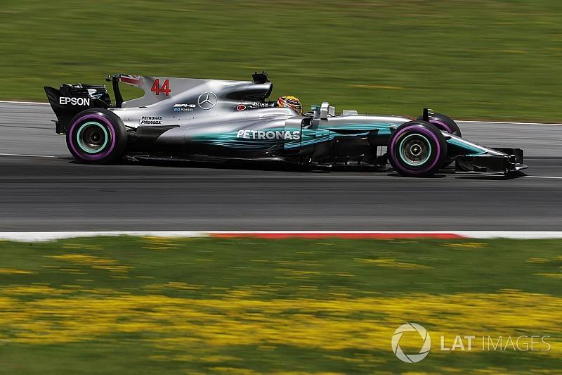 Hamilton: Avusturya'da herkesten hızlıydım