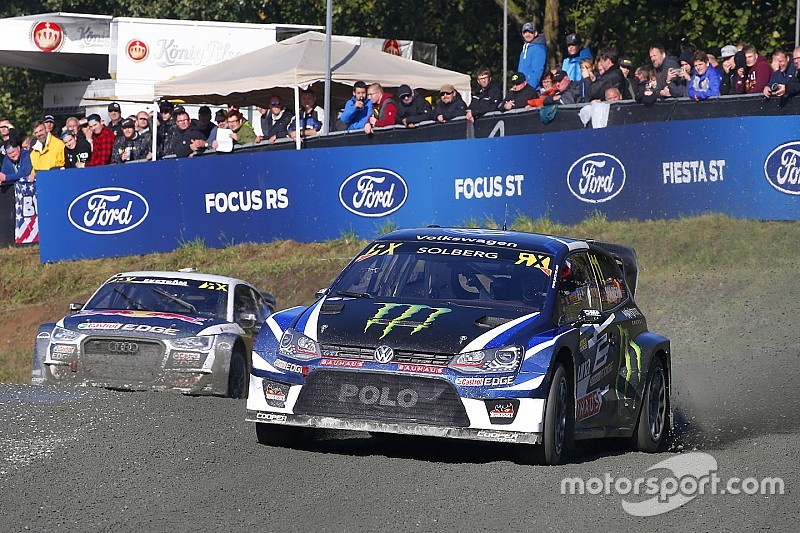 Petter Solberg vs. Mattias Ekström: Showdown um Platz zwei in der WRX