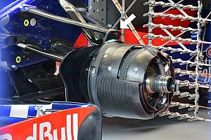 Formula 1 Analisi Toro Rosso: il pivot anteriore è più raffinato di quello Mercedes!