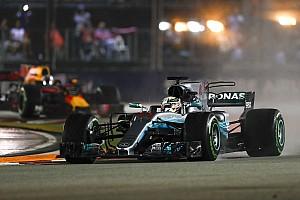 هاميلتون كان يفكر بحادثة سينا في موناكو أثناء تصدّره لسباق سنغافورة