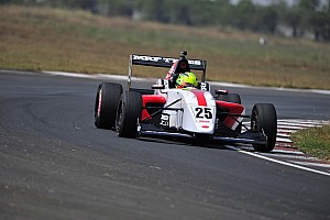 Indian Open Wheel Practice report Chennai MRF Challenge: Schumacher tops Friday practice