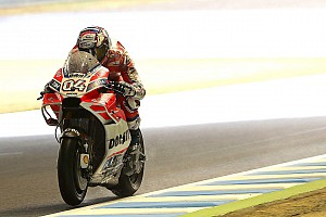 MotoGP Reaktion Ducati in Motegi: Dovizioso fast abgeflogen - Lorenzo mit MotoGP-Siegchance?