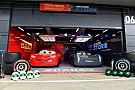 GALERI: Lightning McQueen dan Jackson Storm datang ke Silverstone