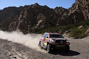 Dakar Breaking news Peugeot impossible to beat even with clean run – de Villiers