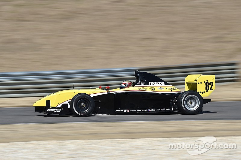 Telitz top in final Pro Mazda test, while Martin heads USF2000 field