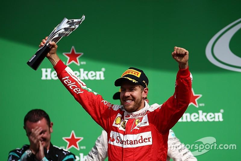 Vettel kehilangan posisi podiumnya di GP Meksiko usai penalti