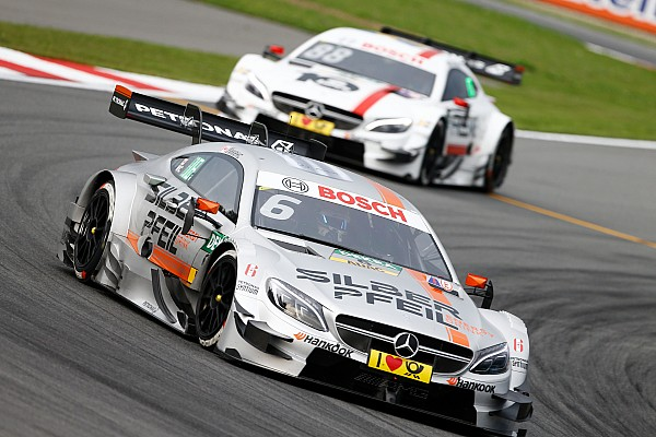 """Wickens vs. Tomczyk: Mercedes wirft BMW """"unsportliches Blockieren"""" vor"""