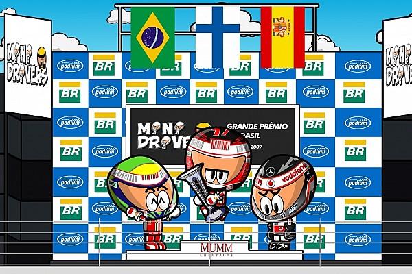 F1 Artículo especial Vídeo: Raikkonen, campeón en Brasil ante Hamilton-Alonso (por MiniDrivers)