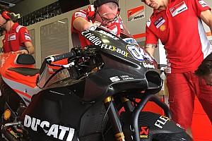MotoGP Ultime notizie Ducati: due nuove carene in pista nel primo giorno di test a Buriram