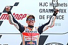 MotoGP Le Mans MotoGP: Marquez wins, Dovizioso and Zarco crash