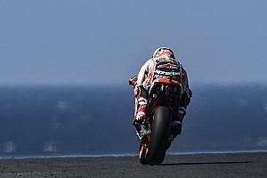 MotoGP Practice report MotoGP Australia: Marquez pimpin warm-up, Dovizioso keenam